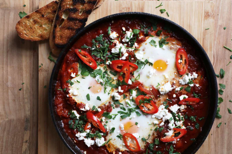 Recipe: Chilli Chorizo Shakshuka