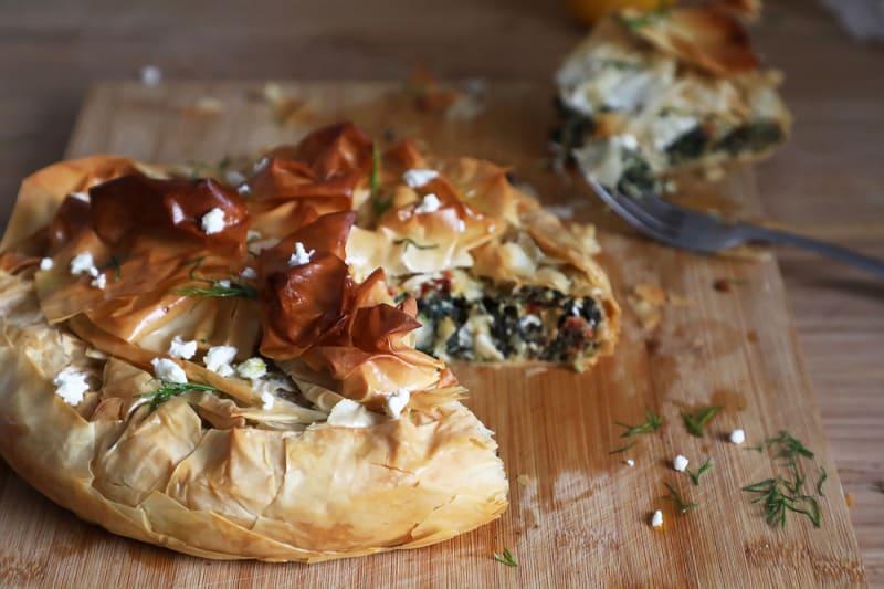 Recipe: Spinach and Feta Pie