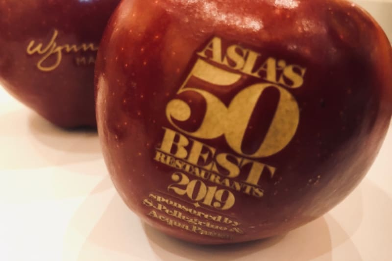Asia's 50 Best Restaurants 2019