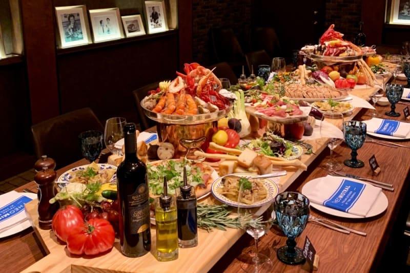 Theo Mistral Presents a Big Italian Feast