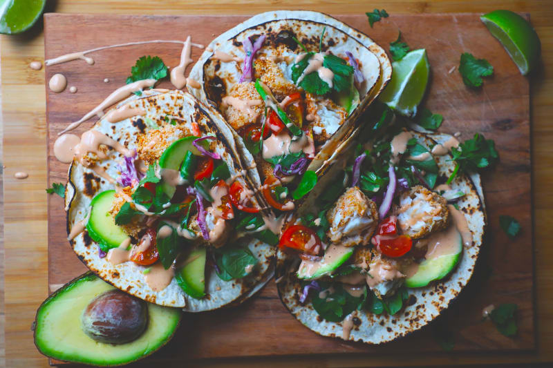 Recipe: Baked Fish Tacos
