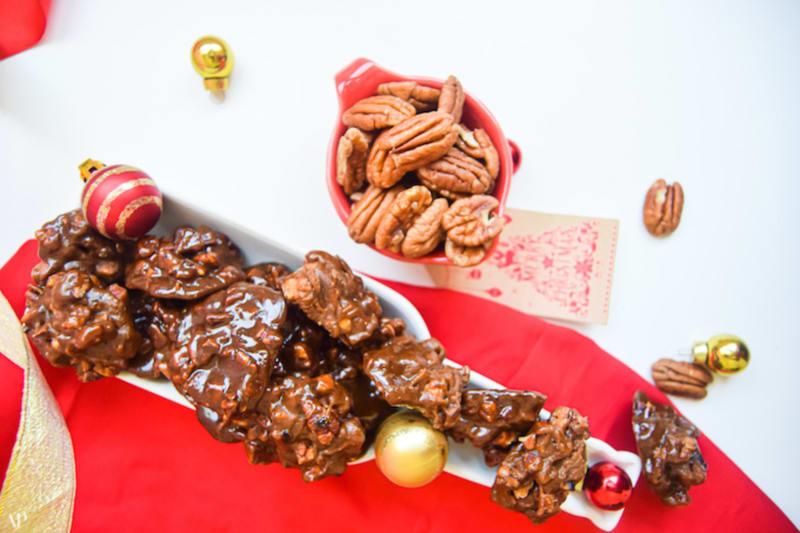 12 Days of Christmas Cookies: Pecan Fudge