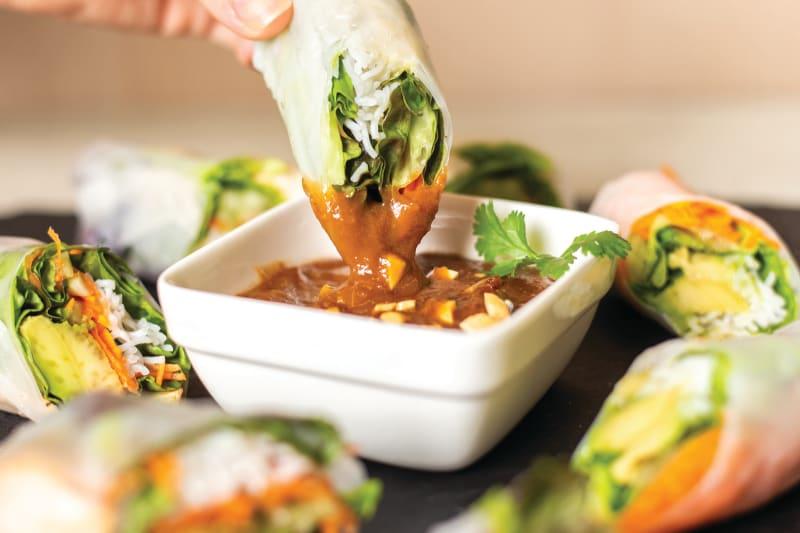 Lee Kum Kee Recipe: Hoisin Peanut Sauce for Spring Rolls