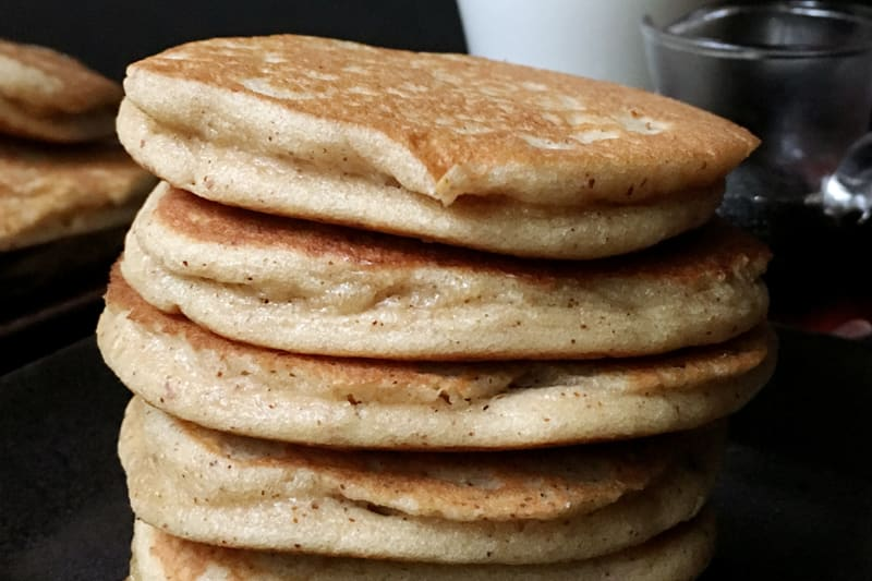 Recipe: Fluffy Gluten-Free Triple-Almond Pancakes