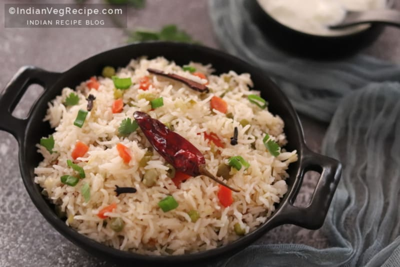 Recipe: Vegetable Pulao