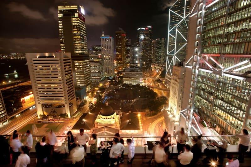 Top 10 Outdoor Bars in Hong Kong