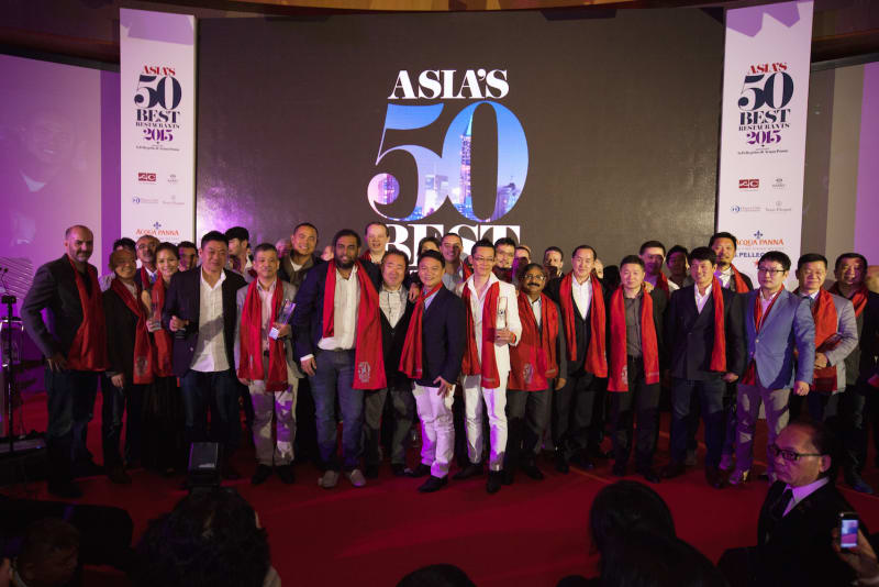 Nine Hong Kong Restaurants Honoured at Asia's 50 Best Restaurant Awards