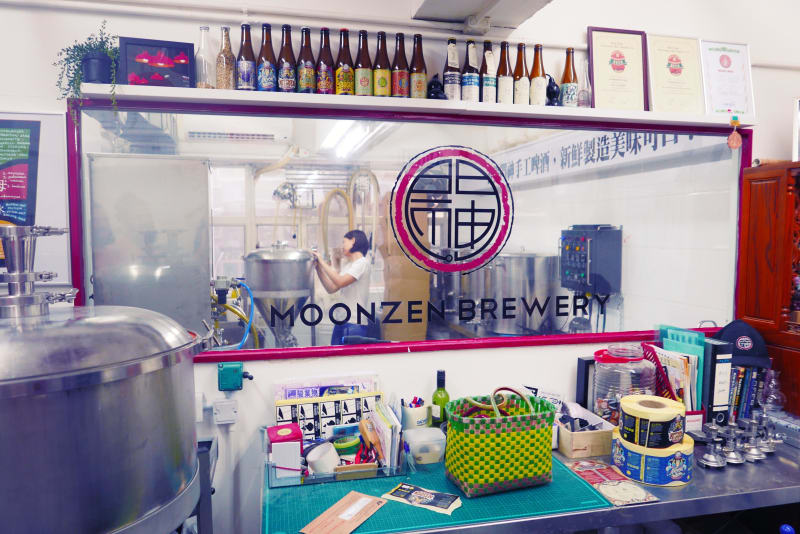 Hong Kong Craft Beer Review: Moonzen Brewery