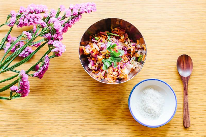 Carrot-Kraut; Carrot and Ginger Kraut Recipe [Magazine Feature]