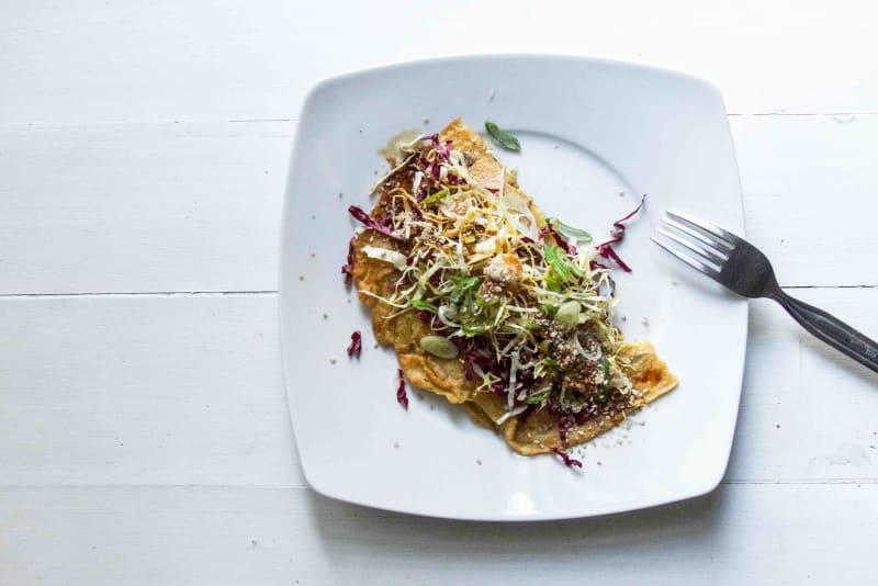 Vegan Mushroom Omelette Recipe
