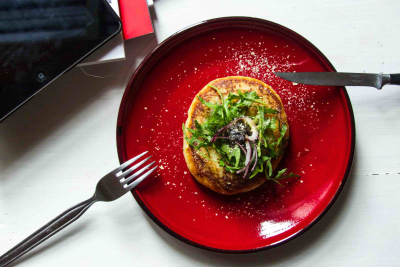 Recipe: Potato Cake Stuffed with Cheesy Spring Vegetables