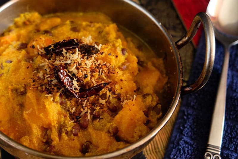 Recipe: Spiced Pumpkin with Toasted Coconut Curry