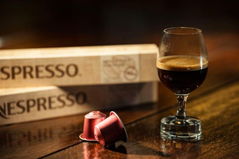 Nespresso's First Aged Coffee
