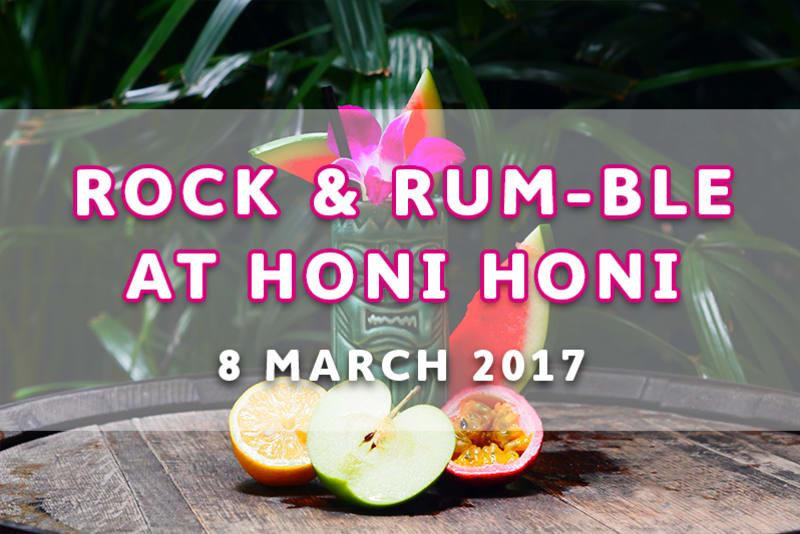 Rock & Rum-ble at Honi Honi Tiki Cocktail Lounge