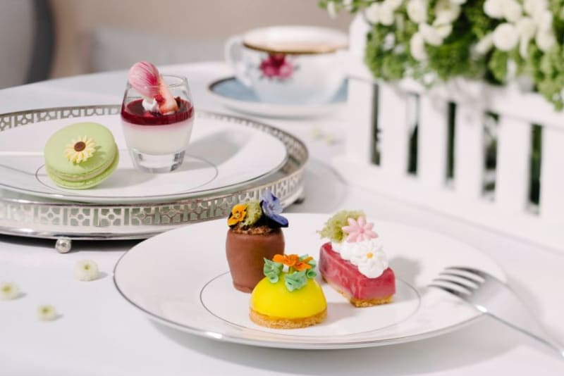 The Langham Launches Blooming Afternoon Tea