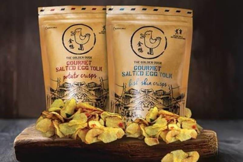 Enjoy Singaporean Salted Egg Yolk Snacks at Cafe Deco Group Restaurants