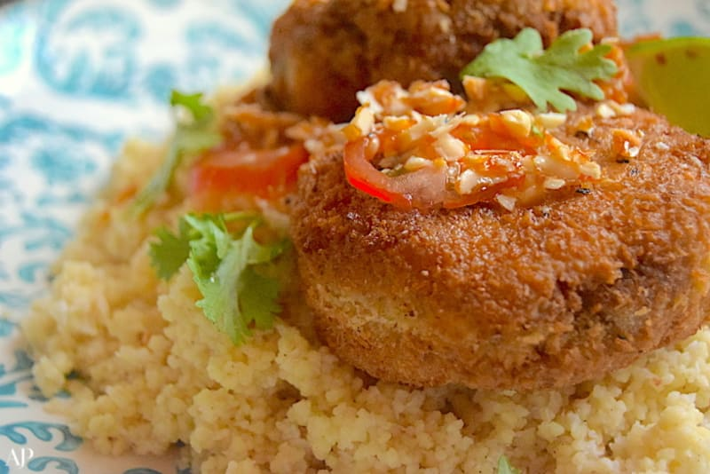 Recipe: Crab Cakes with Couscous Salad