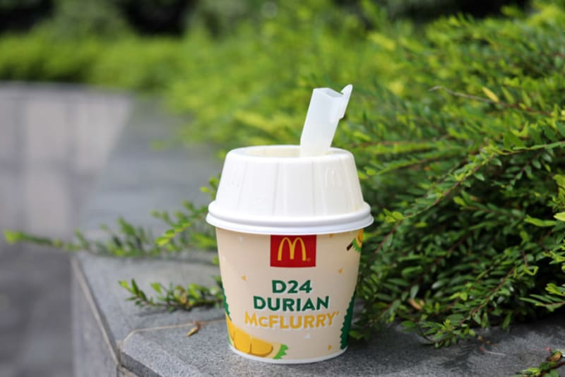 McDonald's Durian McFlurry Is Here!
