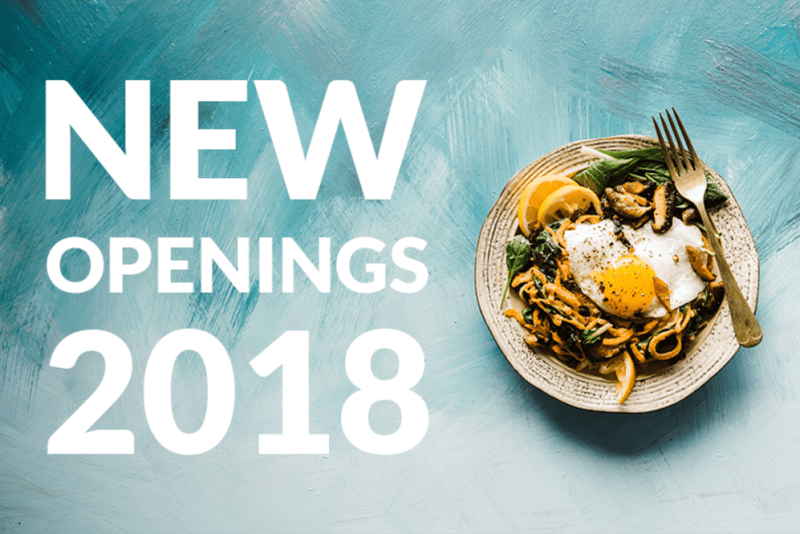 New Restaurants in Hong Kong 2018