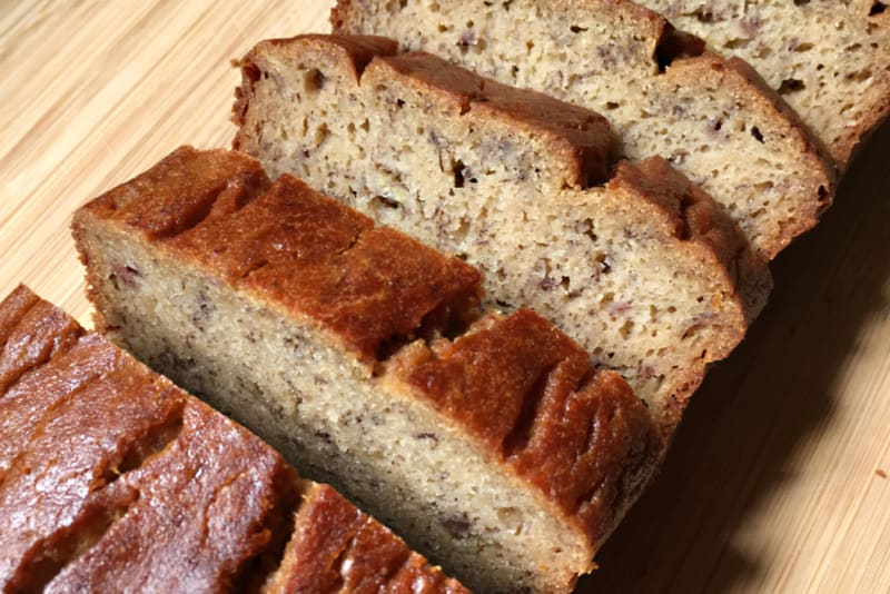 Recipe: Crazy-Good Gluten-Free Banana Bread