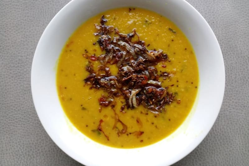 Indian Vegan Delights Recipe: Tarka Dhal