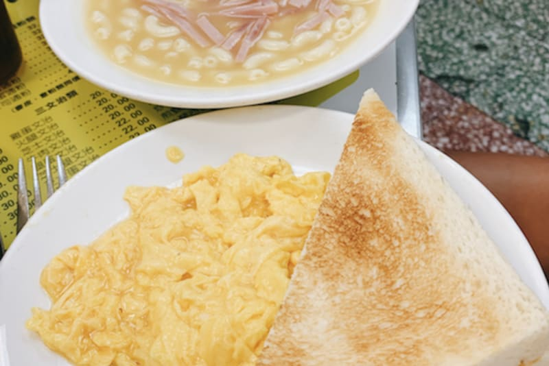 Australia Dairy Company: HK-Style Breakfast at a Cha Chaan Teng