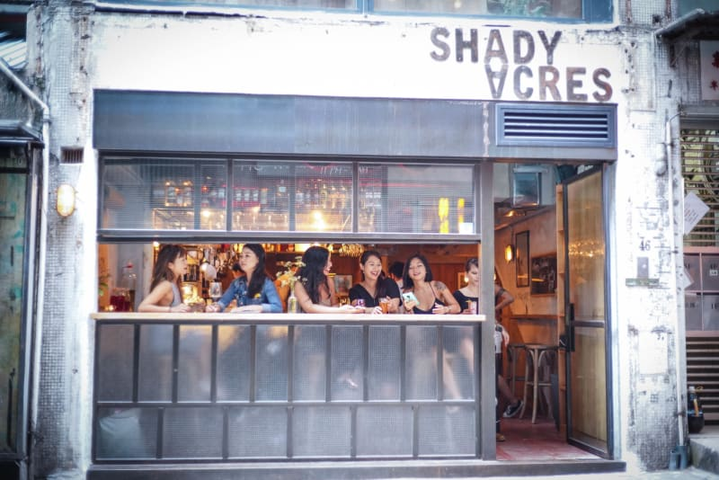 Bar Review: Shady Acres