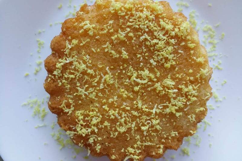 Comforting Cakes Recipe: Lemon Drizzle Cake