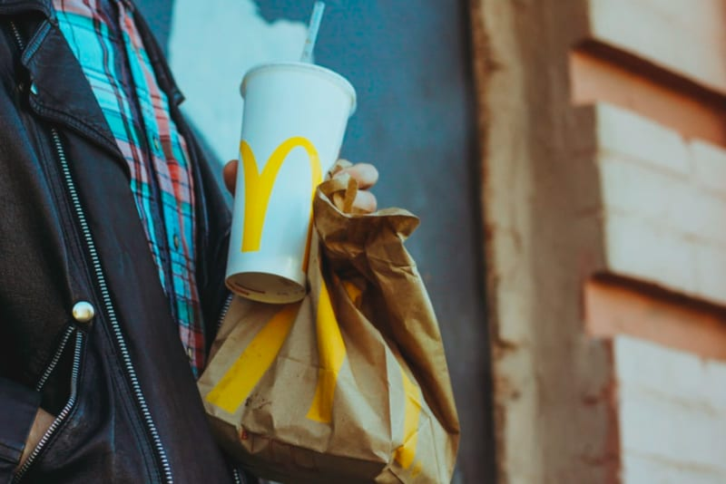 For Sale: Second-Hand McDonald's Burgers