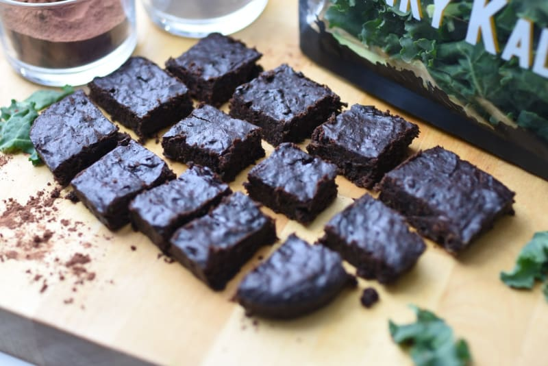 Recipe: Better-Not-Bitter Kale Brownies by Sustenir Agriculture