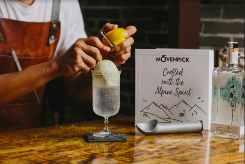 Recipes: Gin & Ice-Cream Cocktails for Summer