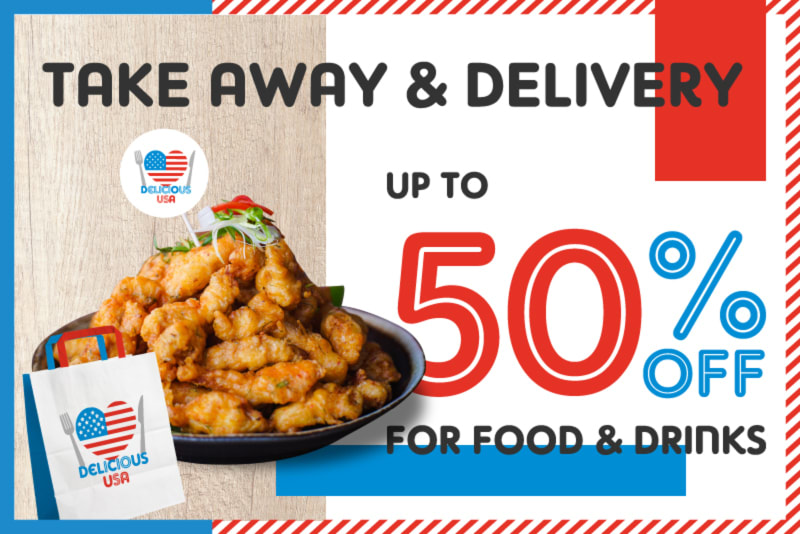 Best Delicious USA 2020 Deals for Takeaway and Delivery