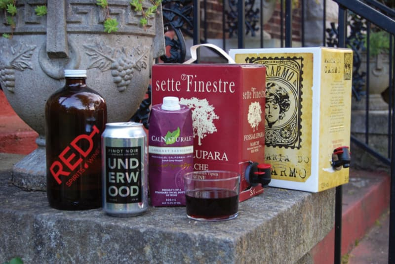 Rewriting Wine 101: Wine Packaging Innovation