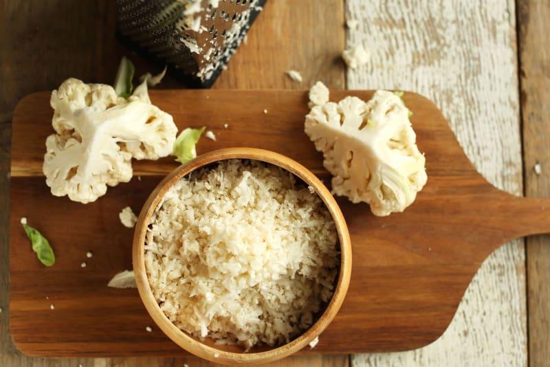 Recipe: Tahini, Parmesan and Lemon Cauliflower Rice