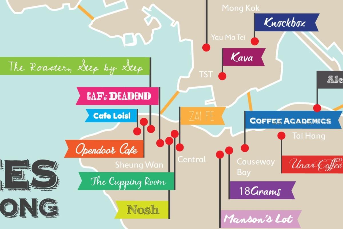 The Top 17 Coffee Shops of Hong Kong