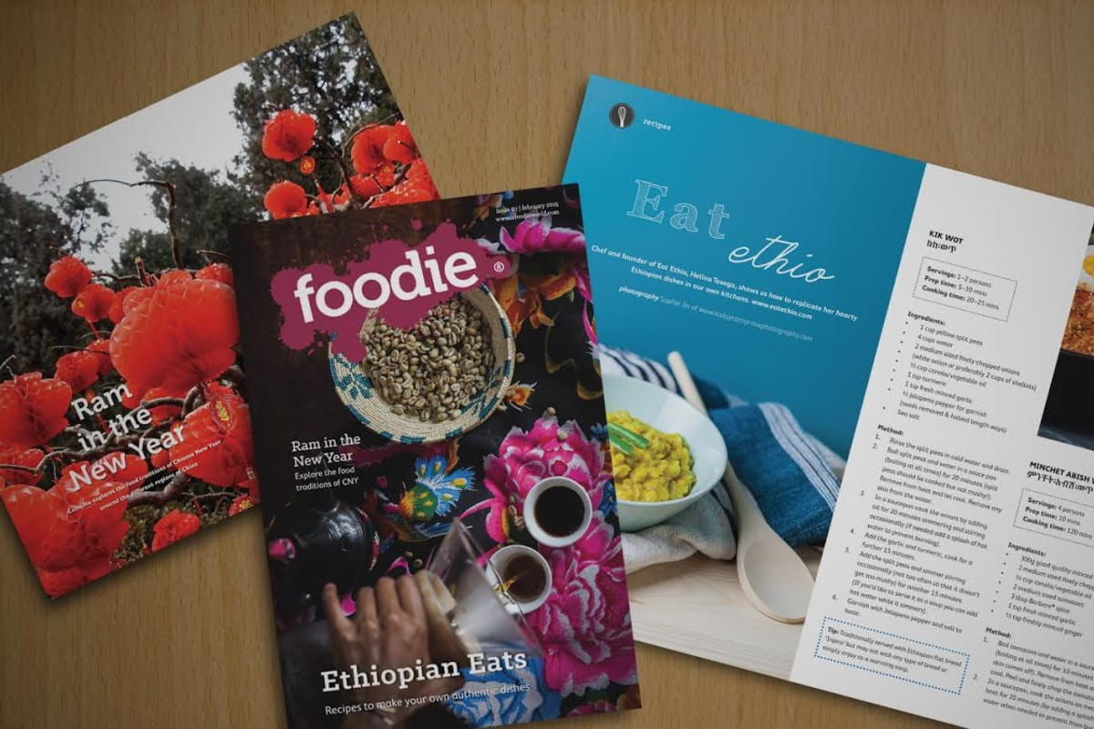 February 2015 Issue of Foodie