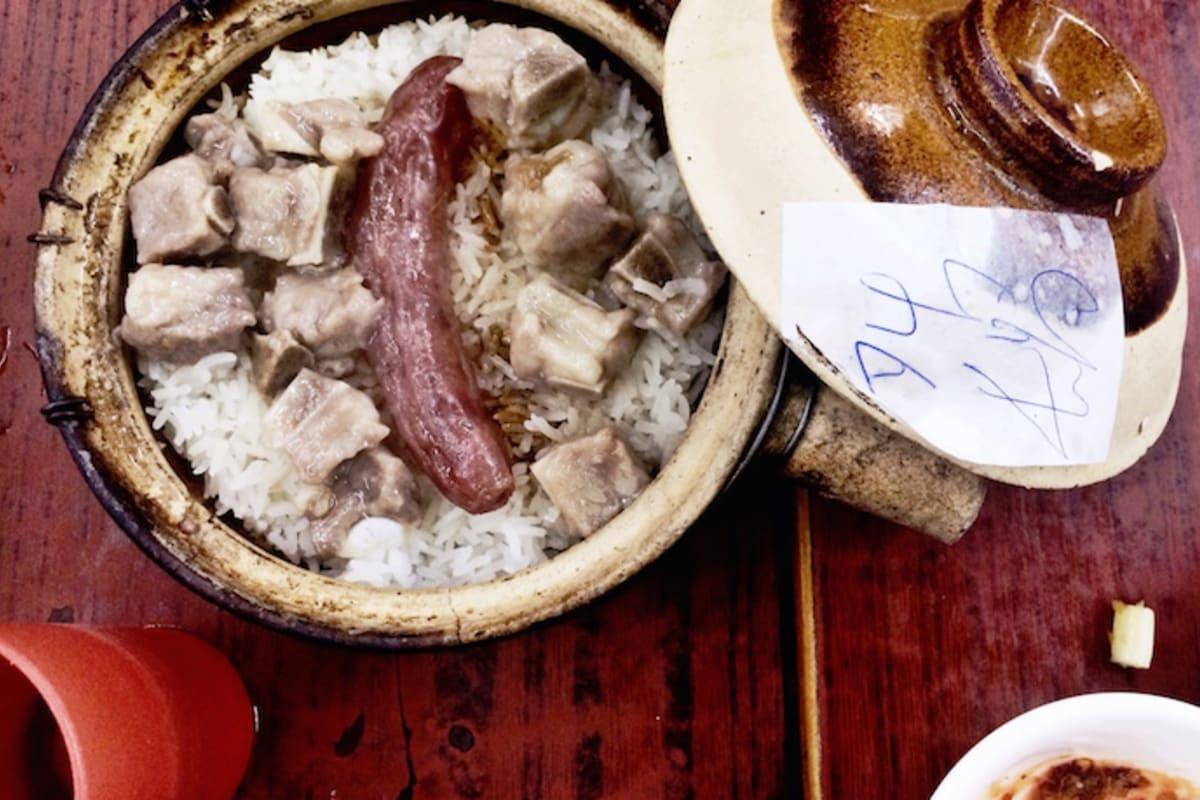 Hong Kong's Famous Clay Pot Rice