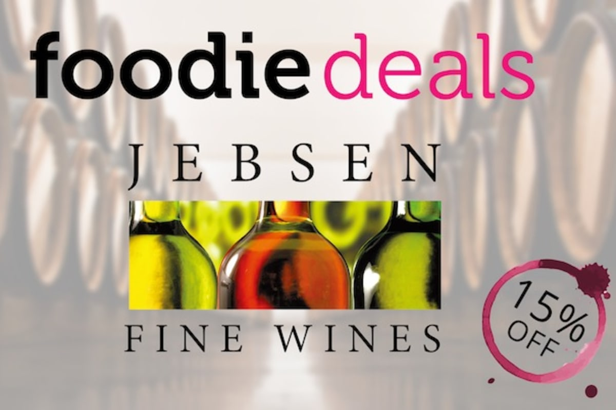 Foodie Deals: Get 15% Any Purchase from Jebsen Fine Wines