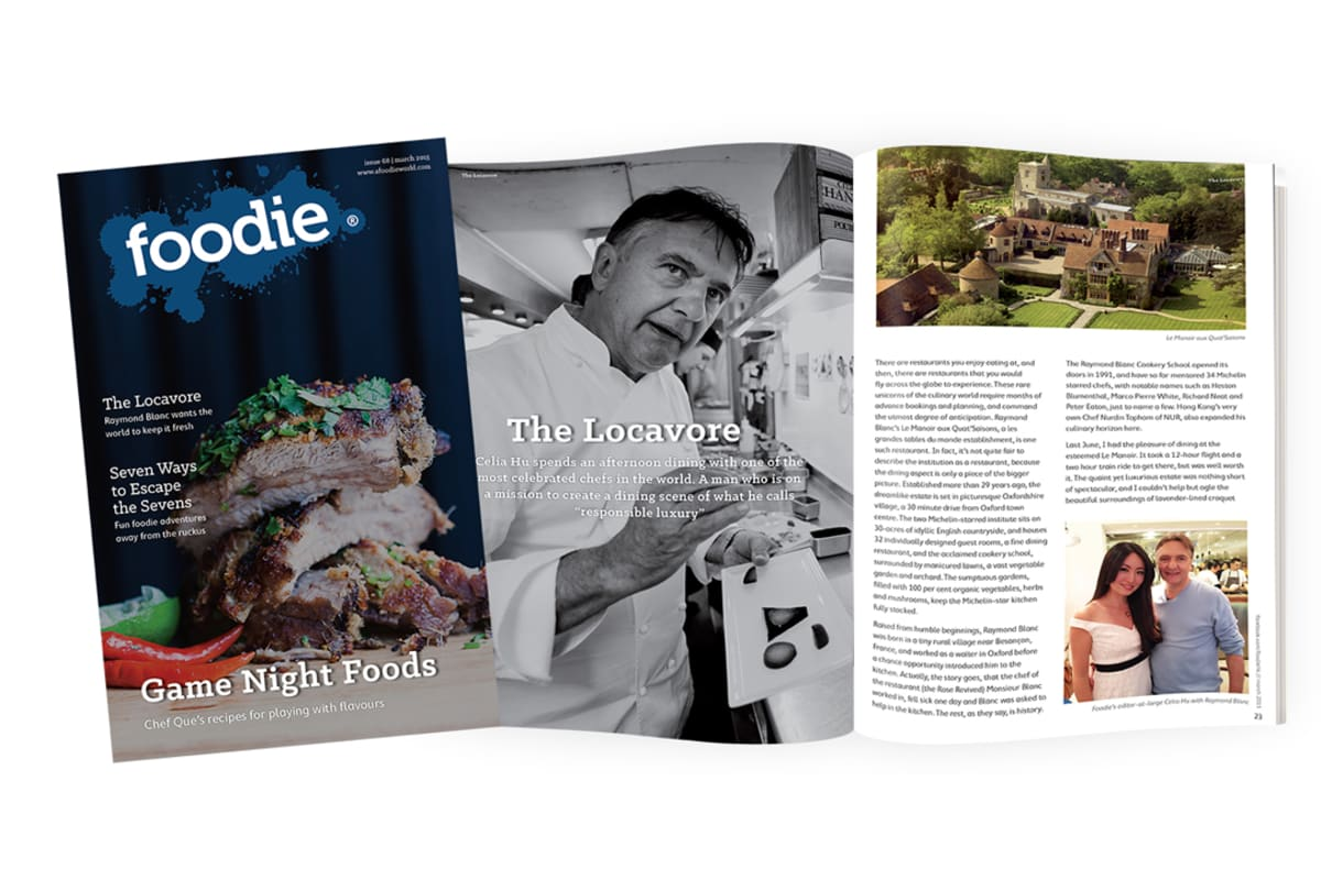 March Issue of Foodie OUT NOW