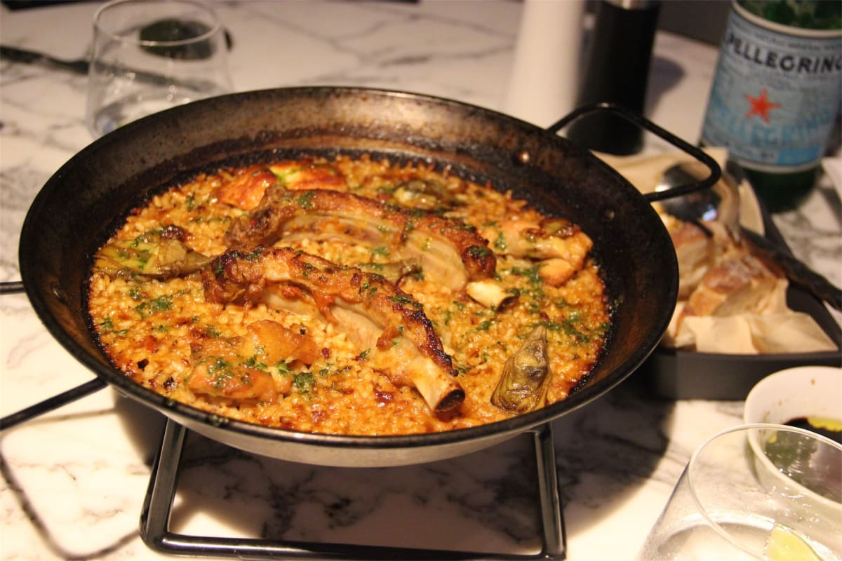 Isono, Pappardelle & Paella