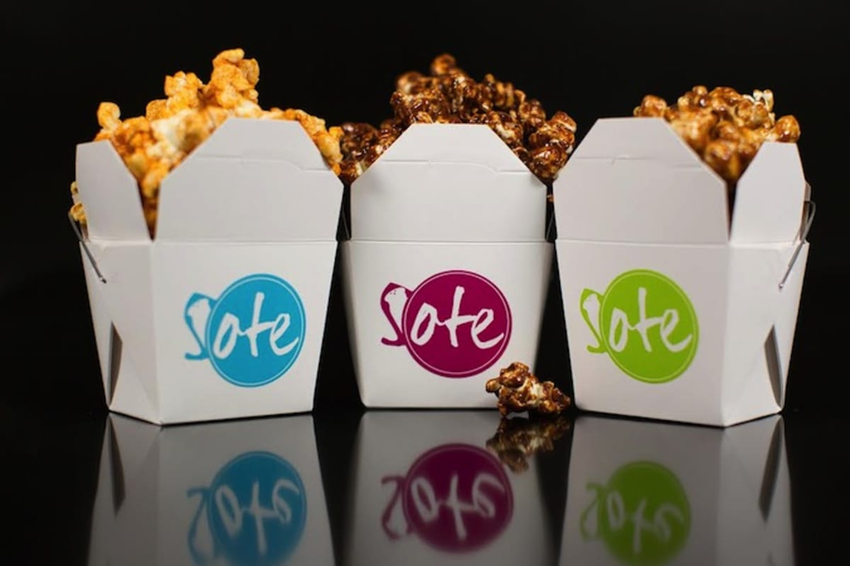 The Foodie Start Up Diaries: SOTE Popcorn