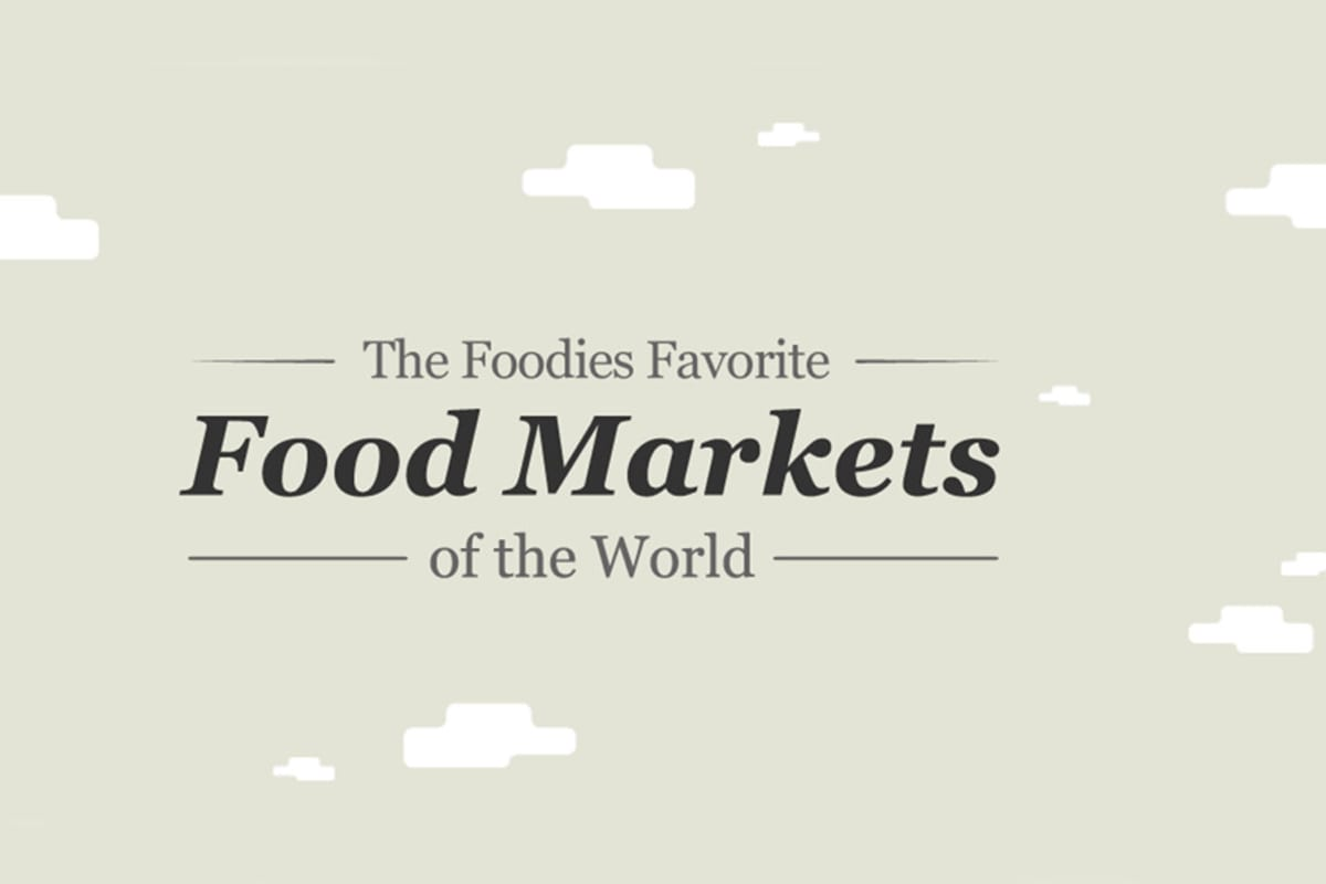 Foodies Love Markets