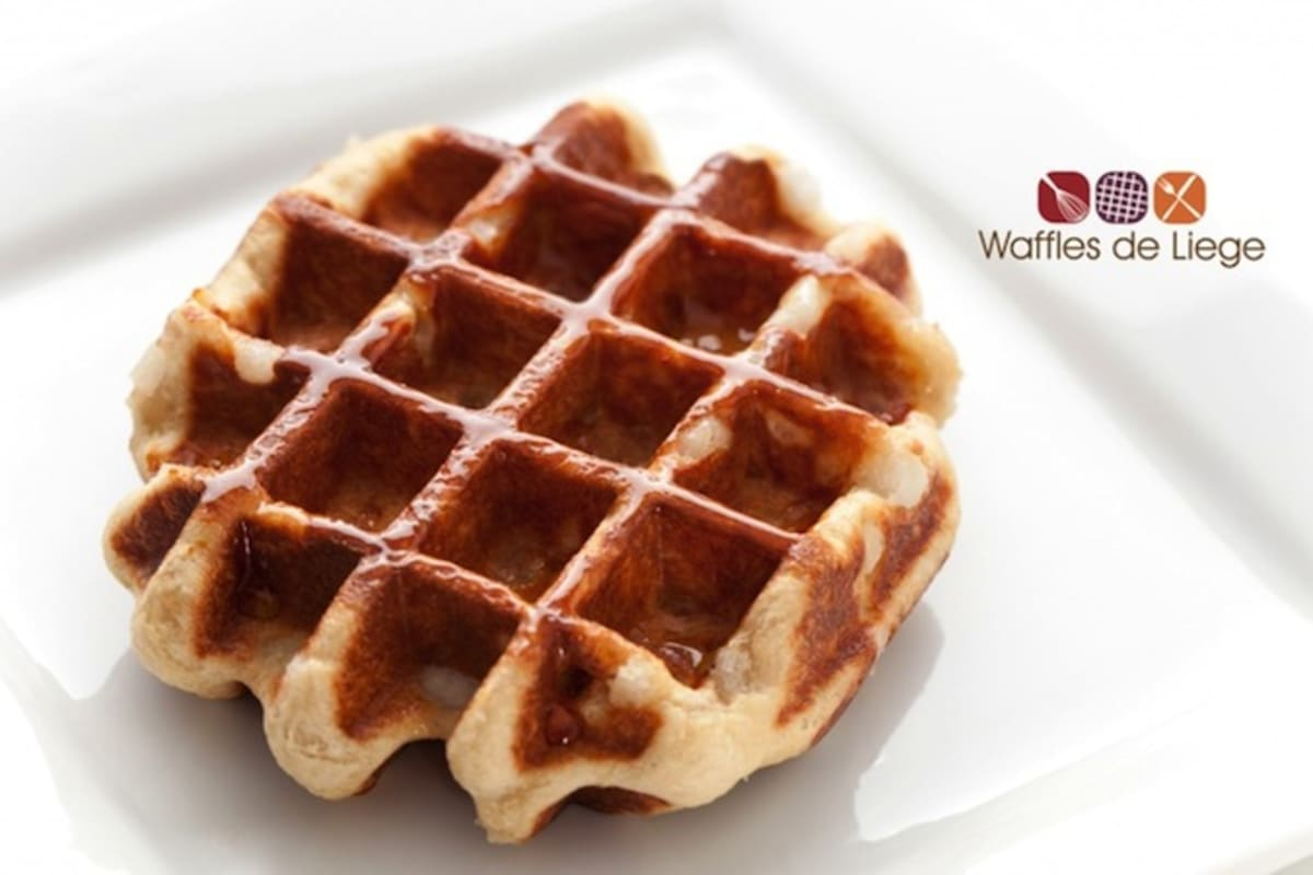 An Authentic Belgian Waffle in Causeway Bay