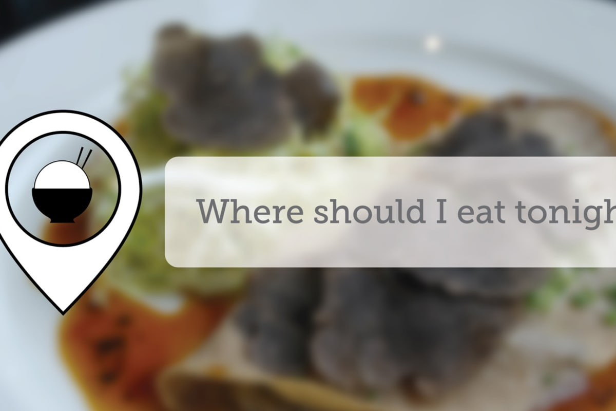 Where Should I Eat Tonight - April IX