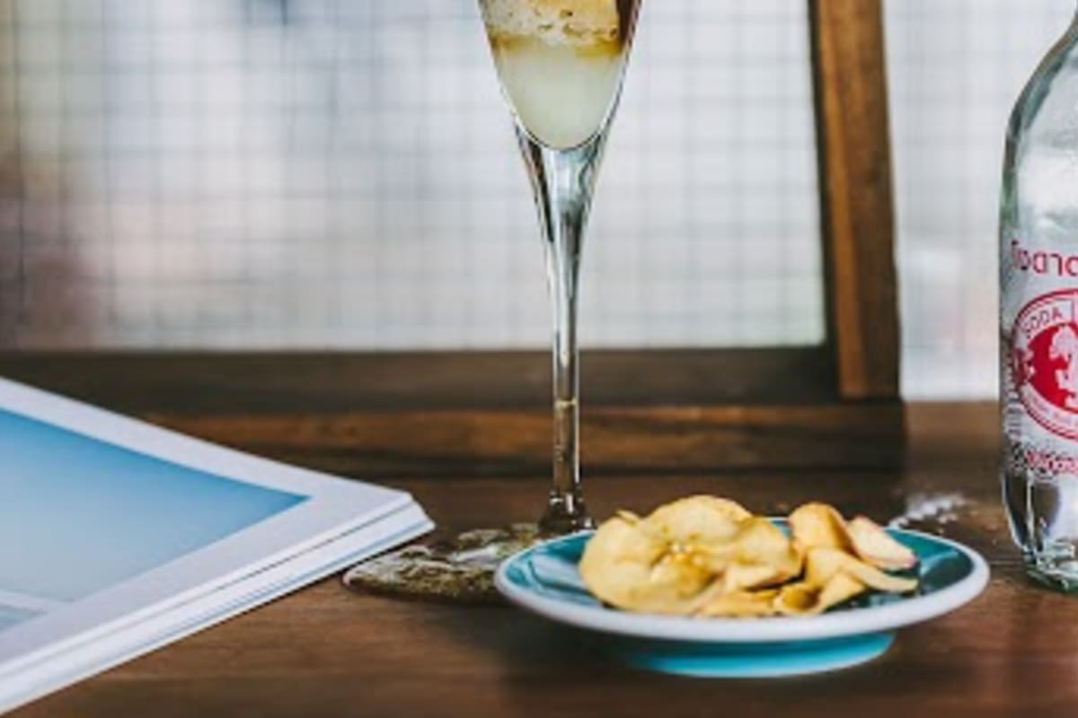 Espresso Lemonade with Salted Kumquat