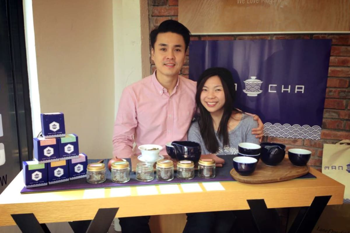 Man Cha Teas Event
