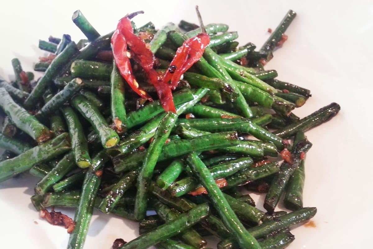 Sichuan Stir-Fried Green Beans