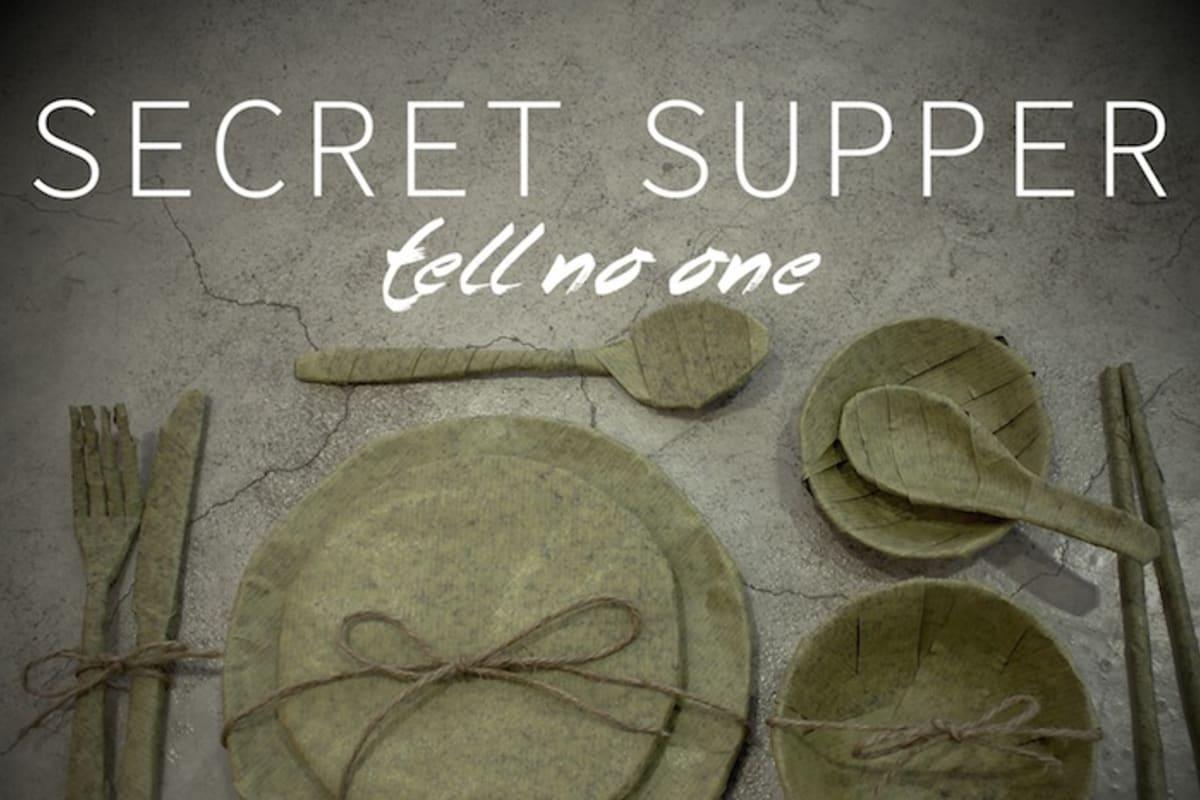 Secret Supper Club – 26 February
