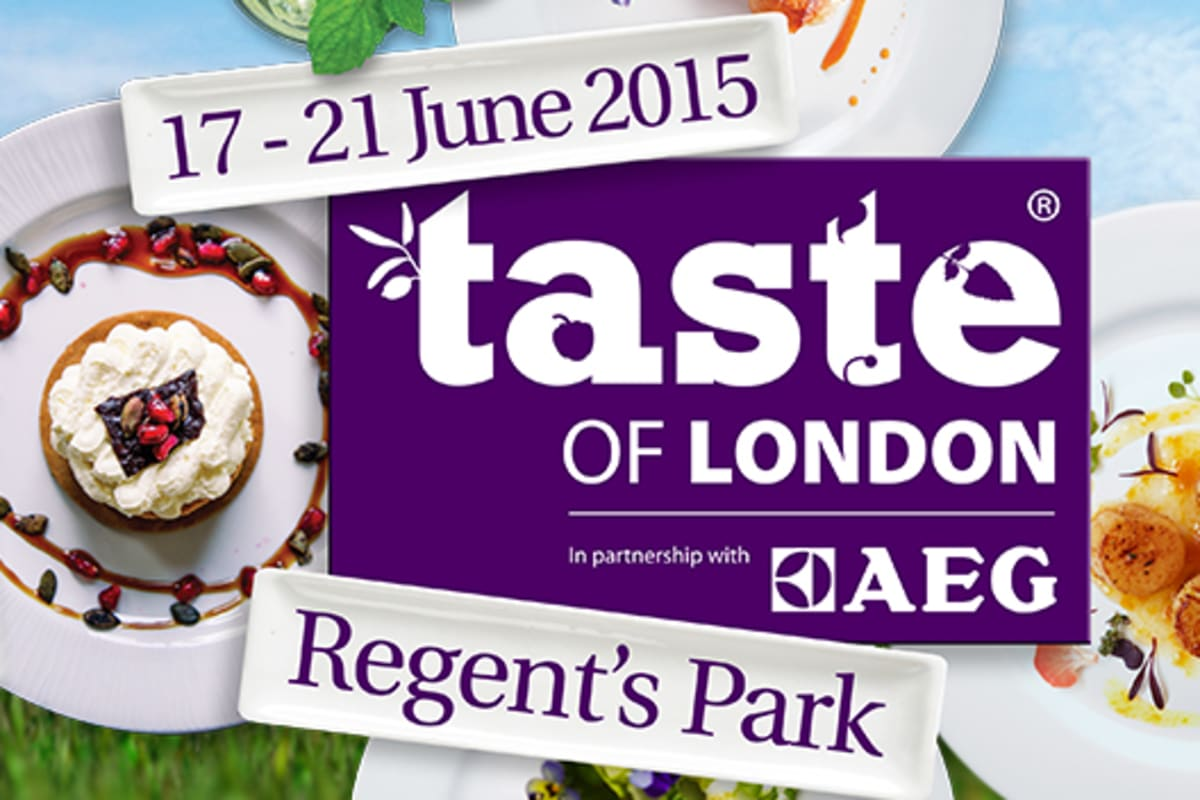 Taste of London Food Festival 2015