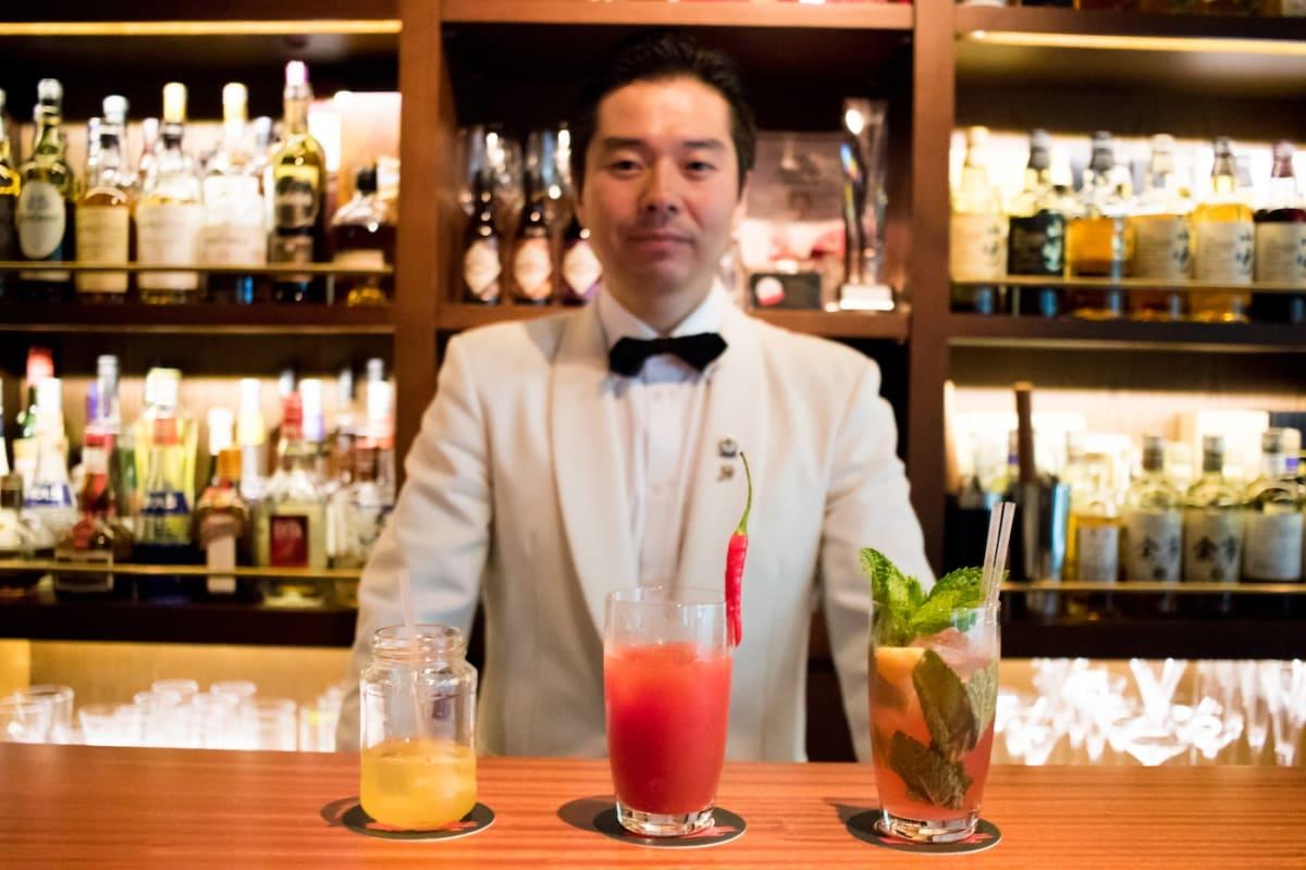 Summer Cocktails Designer by Japanese Master Bartender